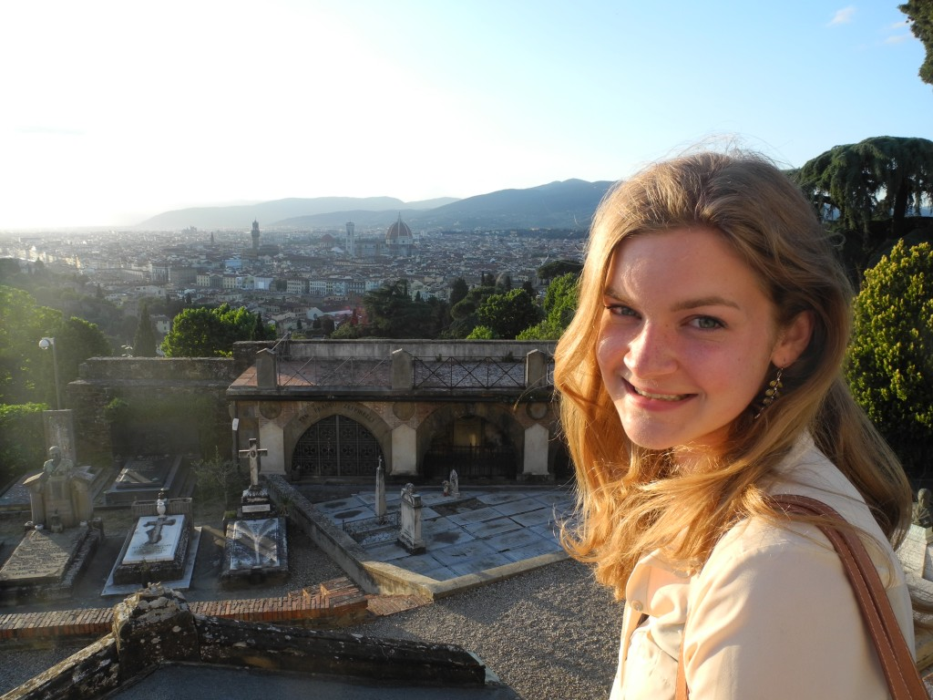 """""""Studying abroad is an opportunity not to be missed. This is the time in our lives to satisfy that wanderlust, try new things, and come back with stories to tell! I had an incredible time in Ireland and traveling around all of Europe."""" -Rebecca Van Der Horn"""